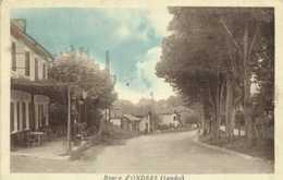 Bourg D'ONDRES  (Landes) Cagé Poste à Essence Esso - Otros Municipios