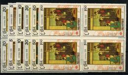 Cuba Nº 3148/53. Año 1991 - Cuba
