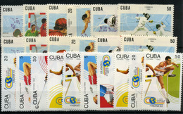 Cuba Nº 3180/85 Y 3238/42. Año 1992 - Cuba