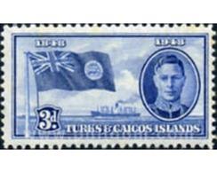 Ref. 619239 * MNH * - TURKS AND CAICOS Islands. 1948. CENTENARY OF THE SEPARATION OF THE BAHAMAS . CENTENARIO DE LA SEP - Turks & Caicos (I. Turques Et Caïques)