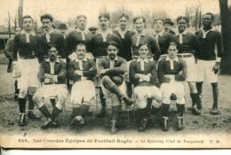 N°947 T -cpa Les Grandes équipes De Football Rugby -club De Vaugirard- - Distretto: 15
