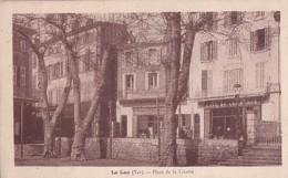 LE LUC           PLACE DE LA LIBERTE     CAFE DU COMMERCE - Le Luc