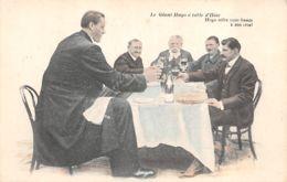 Spectacle (Célébrité) - Le Géant Hugo à Table D'Hôte - Hugo Offre 1000 Francs à Son Rival - Spectacle