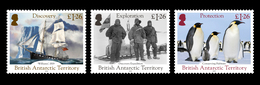 British Antarctic Territory BAT 2019 200th Anniversary Of The Discovery Of Antarctica Ship Penguins 4v MNH - Pingouins & Manchots