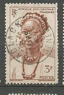 AOF N° 44 CACHET KAOLACK / SENEGAL - Usados