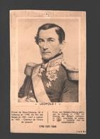 Buvard / Vloeipapier - Léopold I - Buvards, Protège-cahiers Illustrés