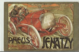 CP.Bruxelles-Schaerbeek (ex-Collection DELOOSE) - PNEUS SENATZY - Automobile De Course 10 Rue Stéphenson  - W0027 - Schaerbeek - Schaarbeek