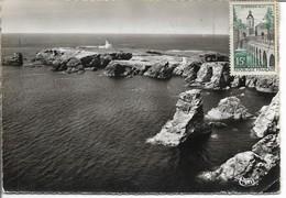 BELLE-ILE-en-MER Vue Aérienne De La Pointe Des Poulains - Belle Ile En Mer