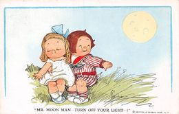Mr Moon Man-Turn Off Your Light - Reinthal & Newan - Sign. Wiedersheim - Autres Illustrateurs