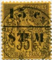 !!! PRIX FIXE : ST PIERRE & MIQUELON, N°13 OBLITÉRATION SUPERBE, SIGNÉ CALVES - Used Stamps