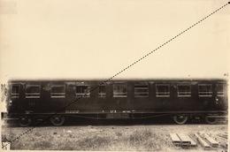 Photo Originale Train Voiture à Bogies Pour Chemins De Fer Italien Biella Italie Par Energie à Marcinelle - Trains