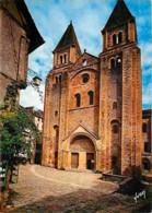 12 - Conques En Rouergue - Façade De La Basilique Sainte Foy - Voir Scans Recto-Verso - Frankrijk