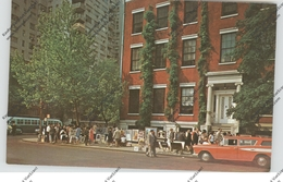 USA - NEW YORK, Greenwich Village, Painting Street, Oldtimer - Greenwich Village