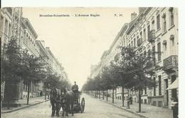 CP.Bruxelles-Schaerbeek (ex-Collection DELOOSE) - L'Avenue Rogier 1907 -  W0052 - Schaerbeek - Schaarbeek