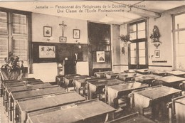 Jemelle , Pensionnat Des Religieuses De La Doctrine Chrétienne - Une Classe De L'école Professionnelle - Rochefort