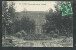 Bouches Du Rhône. Les Baisses , Façade Du Chateau De Calissanne - France