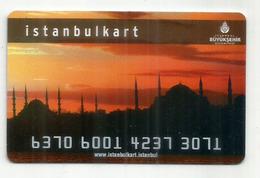 Istanbulkart. Istanbul. Turkey - Titres De Transport