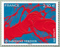5367 FABIENNE VERDIER - Unused Stamps
