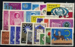 Irán Nº 1199, 1201/2, 1170/2, 1178/83, 1183/5, 1188/91, 1193/4. Año 1966/7 - Iran