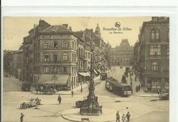 CP.Bruxelles-Schaerbeek (ex-Collection DELOOSE) - La Barrière De Saint-Gilles + Tram -  W0061 - St-Gillis - St-Gilles