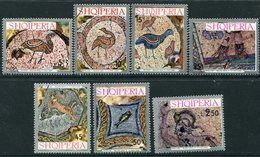 ALBANIA 1972 Mosaics  Used.  Michel 1597-1603 - Albania