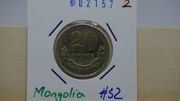 Mongolia 20 Menge 1970 Km#32 - Mongolie