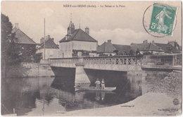 10. MERY-SUR-SEINE. La Seine Et Le Pont - Autres Communes