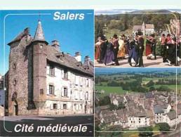 15 - Salers - Multivues - Folklore - Carte Neuve - Voir Scans Recto-Verso - Frankreich