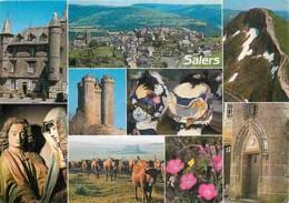15 - Salers - Multivues - Vaches - Coiffes - Voir Scans Recto-Verso - Frankreich