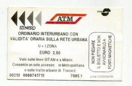 Milano. Azienda Trasporti Milanesi.SpA. Italie. - Europe