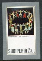 ALBANIA 1972 Paintings Block MNH / **.  Michel Block 46 - Albanie