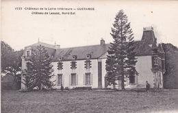 44-CHATEAU DE LA LOIRE-INFÉRIEURE-GUÉRANDE-  CHATEAU DE LESSAC NORD-EST - Guérande