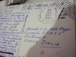 FRANCHIGIA Soldier's Free Mail 1967 Army-Air FORCE POSTAL SERVICE SAIGON AMT VIETNAM X ITALY GENERALE A MAGRI PAR HI2837 - Other Wars