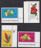 FLORES - SAMOA 1969 - Yvert #241/44 - MNH ** - Vegetales