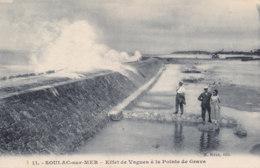 Soulac Sur Mer (33) - Effet De Vague à La Pointe De Grave - France