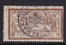 French Alexandrie 1902, Minr 27 Vfu - Oblitérés