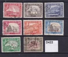 Aden 1939 9 Values To 5r - Aden (1854-1963)