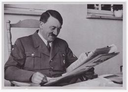 DT- Reich (000414) Propaganda Sammelbild Adolf Hitler Bild 49, Gute Nachricht - Briefe U. Dokumente