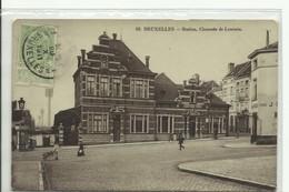 CP.Bruxelles-Schaerbeek (ex-Collection DELOOSE) - La Station De St-Josse La Gare (chaussée De Louvain) 1911 -  W0085 - Schaerbeek - Schaarbeek