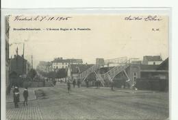 CP.Bruxelles-Schaerbeek (ex-Collection DELOOSE) - L'avenue Rogier Et La Passerelle 1905 -  W008 - Schaerbeek - Schaarbeek