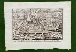 ST-IT La Città Di Padova Capitale Della Provincia Padovana Nello Stato Veneto Salmon -Albrizzi 1751 - Estampas & Grabados