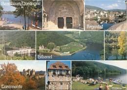 19 - Corrèze - Vallée De La Dordogne - Multivues - Flamme Postale De Argentat - Voir Scans Recto-Verso - Frankreich