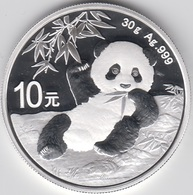 ONZA DE PLATA CHINA 2020 PANDA - China