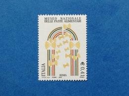 2003 ITALIA MUSEO PASTE ALIMENTARI FRANCOBOLLO NUOVO ITALY STAMP NEW MNH** - 1946-.. République