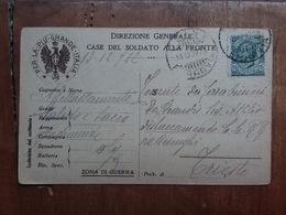 REGNO - Cartolina Per La Più Grande Italia + Spese Postali - 1900-44 Vittorio Emanuele III