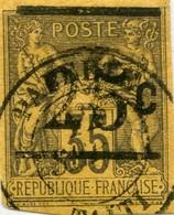 !!! PRIX FIXE : TAHITI, N°1 OBLITÉRATION SUPERBE, SIGNÉ CALVES - Used Stamps