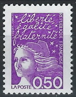BB-/-499-. TYPE LUQUET,  N° 3088  , TYPE 2,   *  *  , COTE 4.00 € , LIQUIDATION, DALLAY= 3072 / T2 - Variétés: 1990-99 Neufs