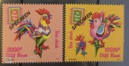Vietnam Viet Nam MNH SPECIMEN Stamps 2016 : Cock / Rooster New Year 2017 (Ms1074) - Vietnam