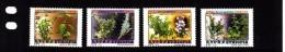 2012 Ethiopia Medicinal Plants Complete Set Of 4 MNH - Äthiopien