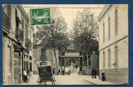 France - Carte Postale - Bordeaux - Boulevard De Caudéran - Vue Sur L'entrée Générale De L'Américain Park - Bordeaux